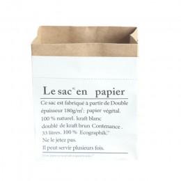 Mały duży rozmiar podwójne warstwy papier pakowy torby rośliny zabawki dla dzieci książki rozmaitości zorganizować Luandry kosz