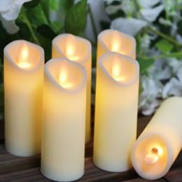 LED elektroniczny bezpłomieniowe huśtawka świeca świece światła na baterie na wesele urodziny festiwal romantyczny obiad wystrój