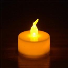 12 sztuk/paczka migotanie bezpłomieniową LED Tea światło migotania świeca do herbaty światła Party ślubne Candels bezpieczeństwa