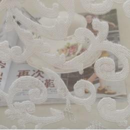 NAPEARL europejski styl żakardowe projekt dekoracji wnętrz nowoczesne zasłony tkaniny tiulowe organza sheer panel okno leczenie