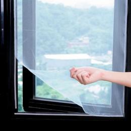 5M anty okno na komary netto Mesh zasłony netto kurtyny Protector ekran latać wstawka błąd DIY wymienny zmywalny okno ekran