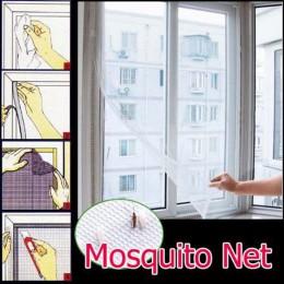2019 nowy lato Fly okno na komary drzwi netto firanka niewidzialny moskitiera wkładka pokrywa Protector do wewnątrz pomieszczeni