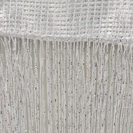 200x100 cm luksusowe kryształ zasłony Flash linii błyszczące Tassel String zasłona do drzwi okno pokój dzielnik do dekoracji dom