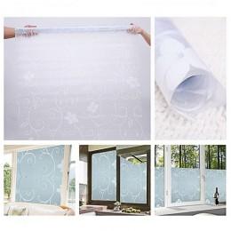 45x100cm samo klej PCV Film wodoodporna okno taśma ograniczająca widoczność monitora naklejki matowe szklane nieprzezroczyste sy