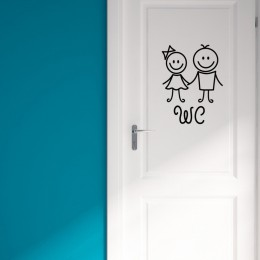 Cartoon ubikacja wielokrotnego użytku łazienka wymienny domu wodoodporna śliczne dekoracyjne WC pcv samoprzylepne dziewczyna chł