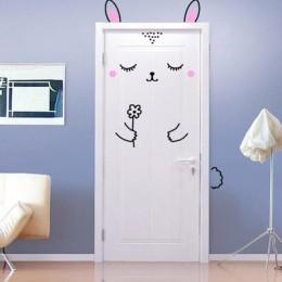 Do dekoracji domu 3d deur naklejki naklejki na porte krajobraz sztuki tapety na drzwi wodoodporna deurposter na ścianie dekor dr