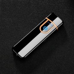 USB do ładowania dotykowym Sensing przełącznik dwustronne lżejsze wiatroszczelna bezpłomieniową elekroniczny papieros papieros n