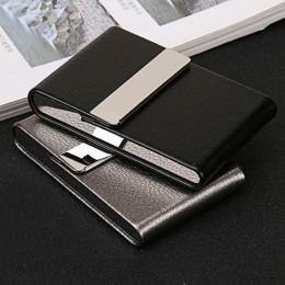 Akcesoria do palenia papierosów Case 1 PC cygaro pudełko do przechowywania ze stali nierdzewnej karta wielofunkcyjna przypadkach