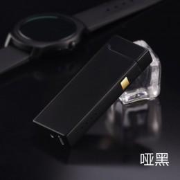 Osobowość kreatywny wiatroszczelna dotykowy USB do ładowania indukcyjne podwójne Arc zapalniczki impulsu zapalniczki plazmy gadż