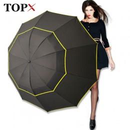 130cm duże najwyższej jakości parasol mężczyzna deszcz kobieta wiatroszczelna duża Paraguas mężczyzna kobiet słońce 3 Floding du
