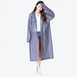 Keconutbear moda EVA kobiet płaszcz zagęszczony wodoodporny płaszcz przeciwdeszczowy kobiety przezroczysty wodoodporne kombinezo