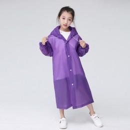 Keconutbear moda EVA płaszcz przeciwdeszczowy dla dzieci zagęszczony wodoodporny płaszcz przeciwdeszczowy dla dzieci przezroczys