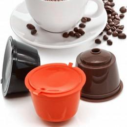 3 sztuk/paczka biały wielokrotnego napełniania kapsułka kawy dolce Gusto nescafe kapsułki wielokrotnego użytku napełniania dolc