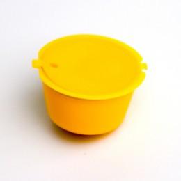 LMETJMA 9 kolor wielokrotnego użytku wielokrotnego użytku do kawy Dolce Gusto kapsułki BPA za darmo kapsułek z kawą do Dolce Gus