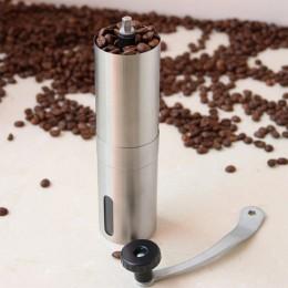 Ręczny młynek do kawy ekspres do kawy ceramika rdzeń 304 ze stali nierdzewnej ręcznie Burr młynek ceramiczny młynek do kawy kuku