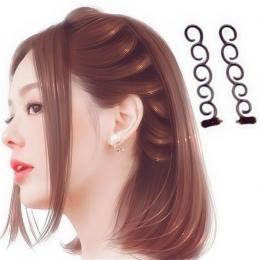 Kobiety moda Hair Klip Memory Stick Maker Braid Bun Narzędzie Księżniczka Modelowanie Fluffy Diy Wesele Włosów Akcesoria Grzebie