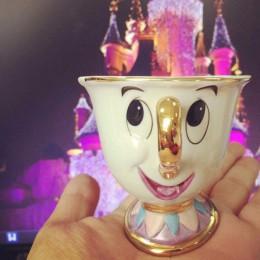 Cartoon piękna i bestia czajnik kubek pani Potts Chip z dzbankiem do herbaty i filiżankami Cogsworth ceramika jeden zestaw piękn