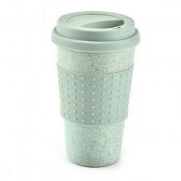 Wielokrotnego użytku kubek wody Cola kubki do kawy słomy pszenicy zdrowe napój butelka wielofunkcyjny z pokrywką kubek do kawy k