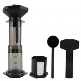 Filtr do kawy wielokrotnego użytku sitko zestaw ekspres do kawy maszyny Cafetera w proszku pomiaru łyżka filtr do kawy narzędzia