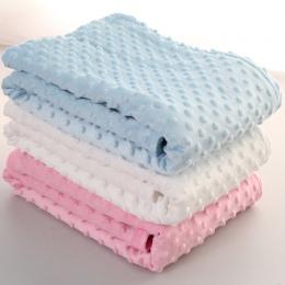 76x102 cm Punkt Arkusz Koc Z Polaru Dla Dzieci Nowonarodzone Dziecko Do Przewijania Wrap Koperty Bebe Wrap Newborn Baby Pościel