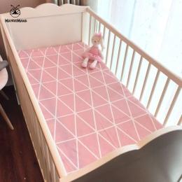 (Prześcieradło 1 sztuk) dziecko łóżko materac pokrywa 1 sztuk 100% bawełna łóżeczko arkusz dla baby girl chłopcy 130x70 cm 120x6