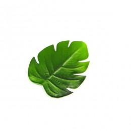 6pc tropikalne sztuczne liści palmowych EVA podkładki pod kubek miska podkładka mata kawy filiżanka herbaty maty podstawki na na
