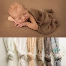 150*160 cm Newborn Fotografia Szydełka Tkaniny Tło Proste Drutach Tło Noworodka Tło Pozowanie 200*160 cm Miękkie tkaniny
