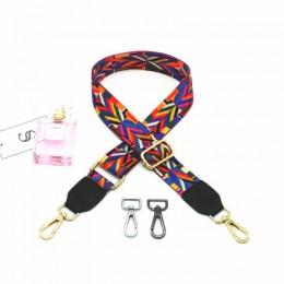 MEDADA moda kolorowe pasek na ramię pas nylonowy torby pasek akcesoria dla kobiet Messenger Crossbody torby