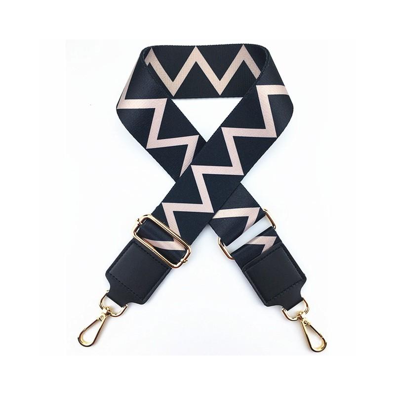 Materiałowy pasek na ramię do torebek Akcesoria do kobiet pasek Kolorowe wymienne paski