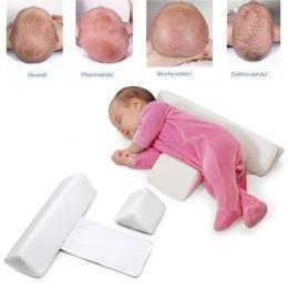 Wysokiej jakości poduszki Noworodków Infant Snu Pozycyjny Zapobieganie Głowica Płaska Kształt Stabilizatora Poduszka 2018 A5
