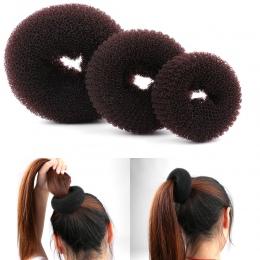 3 SZTUK Rozmiar S/M/L Kobiety Moda Magia Shaper Bun Pierścień Donut Włosów Akcesoria haar Pani Stylizacji narzędzie Włosów Akces