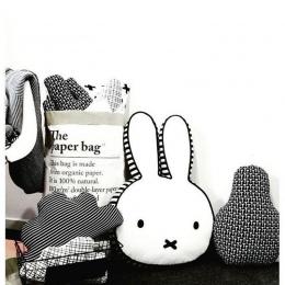 Cute bunny rabbit dziecko poduszki łóżko pokój decor niemowląt dziewczynek snu poduszki szyi poduszki dzieci Wielkanoc prezent u