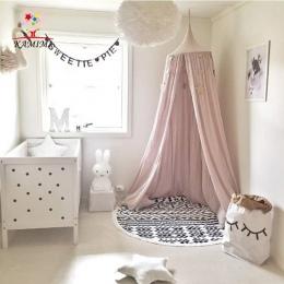 Dziecko łóżko kurtyny KAMIMI dekoracja Pokoju Dzieci Szopka Kompensowania dziecka Namiot Bawełna Wisiał Dome dziecko Moskitiera