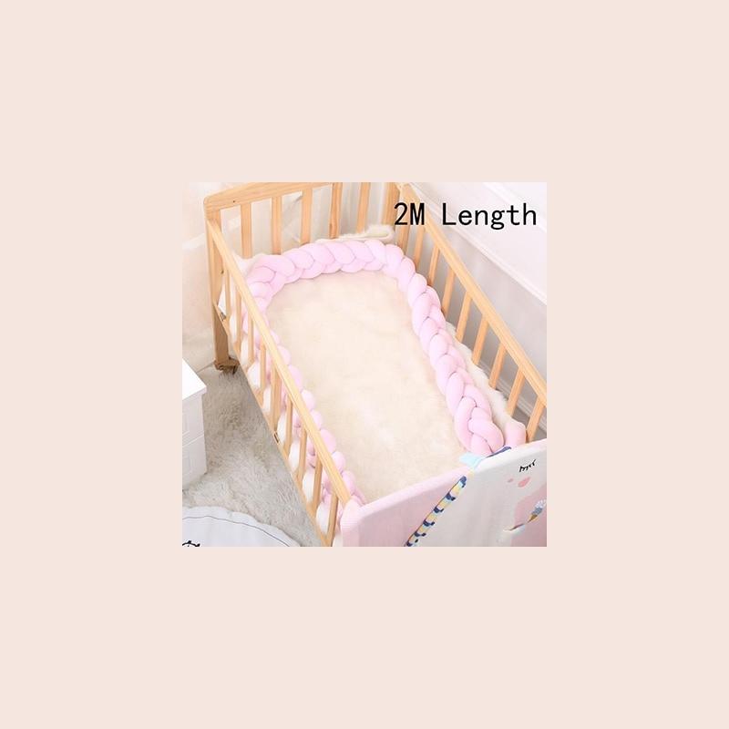 Ochraniacz dziecięcy do łóżeczka otulacz poduszka warkocz na