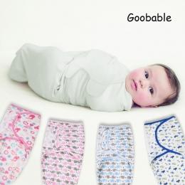 Pieluchy podobne do bawełna organiczna niemowlę noworodek Swaddleme lato cienkie dziecko pieluszki wrap koperta torba Snu Sleeps