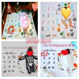 Dziecko Koce Do Przewijania Wrap Newborn Moda Kąpielowy Ręczniki Flower Wydrukowano Śliczne Miękkie Koc DIY Dla Dzieci Niemowląt