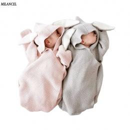 Milancel Koce Dla Dzieci Koperty dla Noworodków Dziecko Obejmuje Ucha Królika Pieluszki Baby Wrap Fotografia Noworodka Dziewczyn