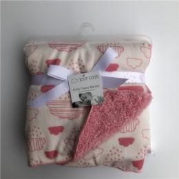 TYLKO ŚLICZNE Nowe koce Dla Dzieci zagęścić podwójne warstwy coral fleece niemowląt przewijać dziecko bebe koperta wrap newborn