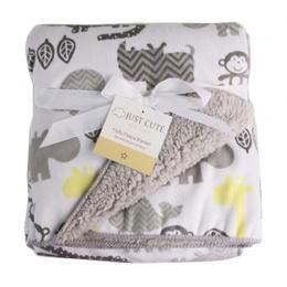 TYLKO SŁODKIE pluszowe koc noworodka przewijać dziecko wózek wrap Super Miękkie nap otrzymaniu koc zwierząt manta bebe cobertor
