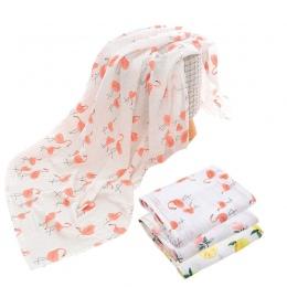Bawełna Koc Dziecko Flamingo Miękkie wielofunkcyjny Muślinu Dziecko Koce Pościel Dla Niemowląt Przewijać Dziecko Ręcznik Dla Now