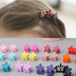 10 sztuk Nowa Moda Dla Dzieci Dziewczyny Mały Włos Pazur Słodkie cukierki Kolor kwiat Włosów Jaw Klip Spinka Do Włosów Akcesoria