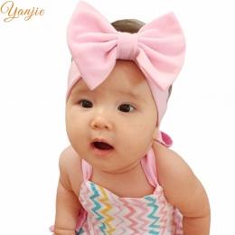 """Pałąk 1 pc Chic Dziewczyna 5 """"Hair Bow Elastyczna Bawełna Opaski Hot sprzedaży Miękkie Akcesoria Do Włosów Dla Dzieci nakrycia g"""