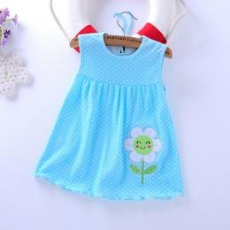 Baby Girl Dress 2018 Letnie Dziewczyny Suknie Style Infantylne Sukienka Gorąca Sprzedaż Baby Girl Ubrania Lato Kwiat Styl Sukien