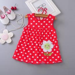 Top Quality Baby Suknie 2018 Księżniczka 0-1years Dziewczyny Bawełniana Sukienka Odzież Sukienka Letnie Dziewczyny Ubrania Niska