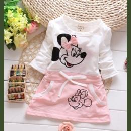 Baby dziewczyny ubierają Nowe Mody 100% bawełna dziewczyna sukienki Sukienka 2018 Sukienka Dziewczyny księżniczka party Odzież U