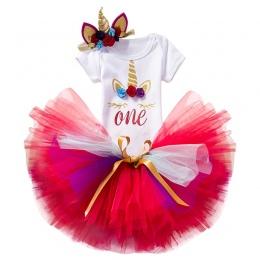 New Baby Girl Odzież Lato Cekiny Bow Tutu Newborn Sukienka (Topy + Pałąk + Sukienka) 3 sztuk Ubrania Bebe Pierwszy Urodzinowy El