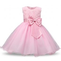 Dziecko sukienka dla dziewczyn ubiera 2018 odzież niemowlęca 1st Urodziny chrzest Sukienki Dla Dziewczynek dzieci vestido infant