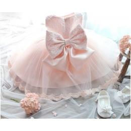1 lat Urodziny Dziewczyna Maluch Chrzest Sukienka Christams Kostiumy Newborn Baby Księżniczka Vestido Dzieci Prezent Chrzciny No