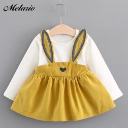 Melario Dziecko Sukienki 2017 Lato Nowe Dziecko Dziewczyny Ubrania Koronki muszka Mini-Line Dziecko Księżniczka Sukienka Śliczne