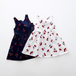 Dziewczyny Odzież Letnia Dziewczyna Sukienka Sukienka Dzieci Dzieci Berry Powrót V Sukienka Dziewczyny Bawełna Dzieci Kamizelka